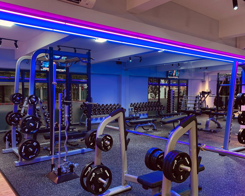 ActiveSG Gym at Fernvale Square with cheapest gym memberships