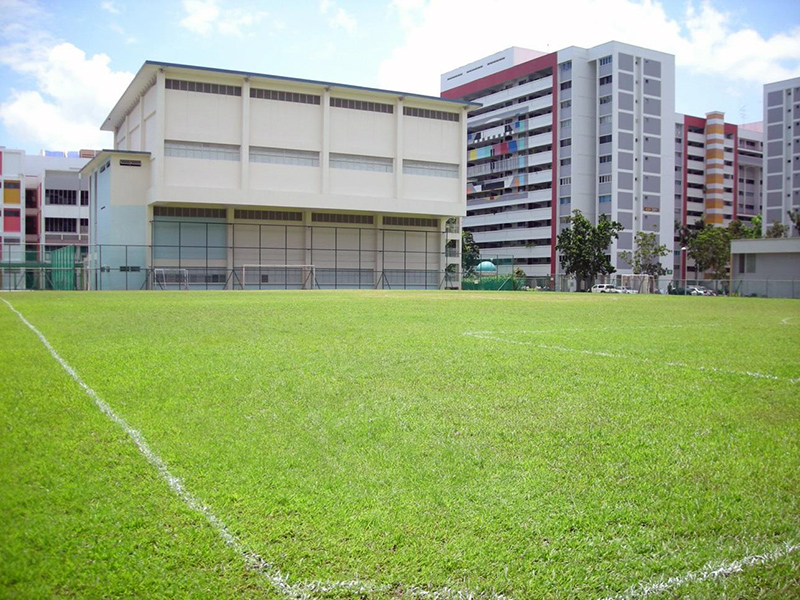 East View Secondary School Field