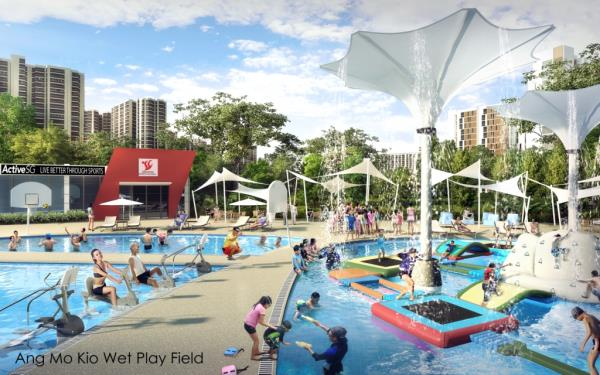 Ang Mo Kio Wet Play Field (artist impression)
