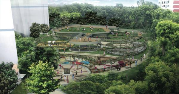 Jurong Spring Community Play Field (artist impression)