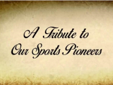 tribute to sports pioneers
