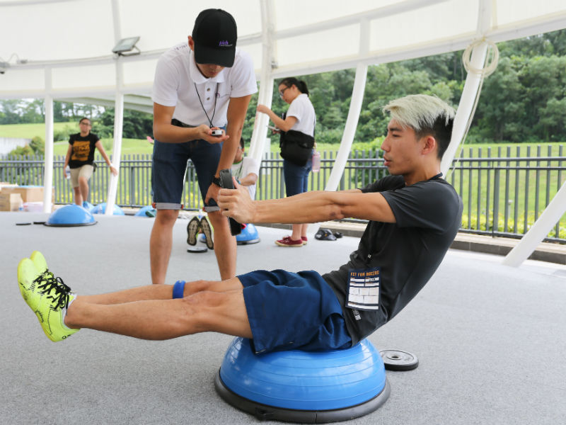 Are you as Fit as an F1 Driver? - ActiveSG