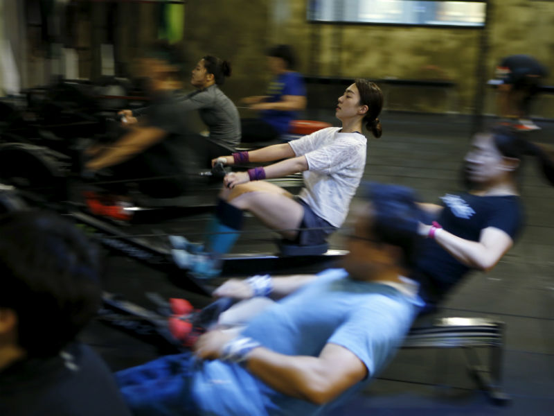 It is important to wear the correct attire to the gym as it can affect your workout. Photo: Reuters