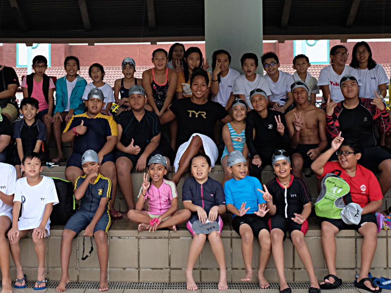 SportCares Swimming Clinic