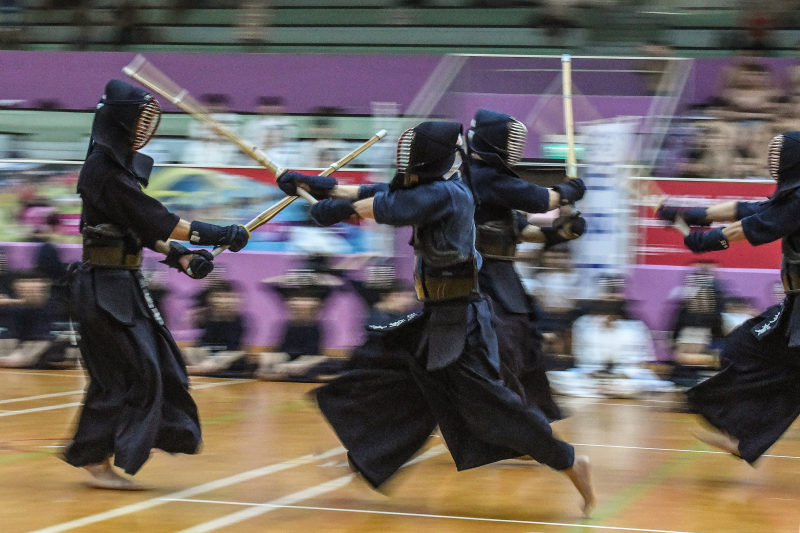 Demonstration of Japanese Martial Arts - KendoHeld at Toa Payoh Sports Hall on 11-02-2018Photo by Andrew JK Tan/SportSG