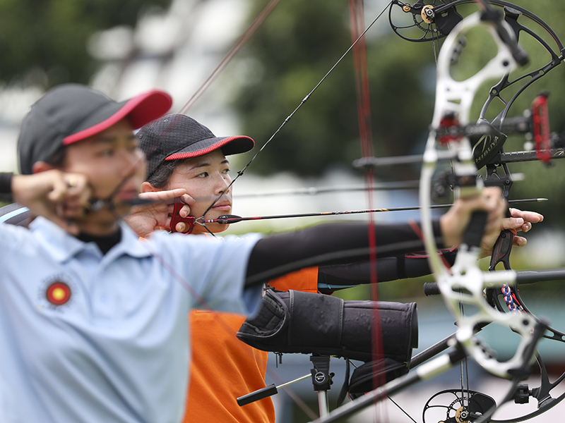 Singapore Archery Open hosts international clubs for the first time -  ActiveSG