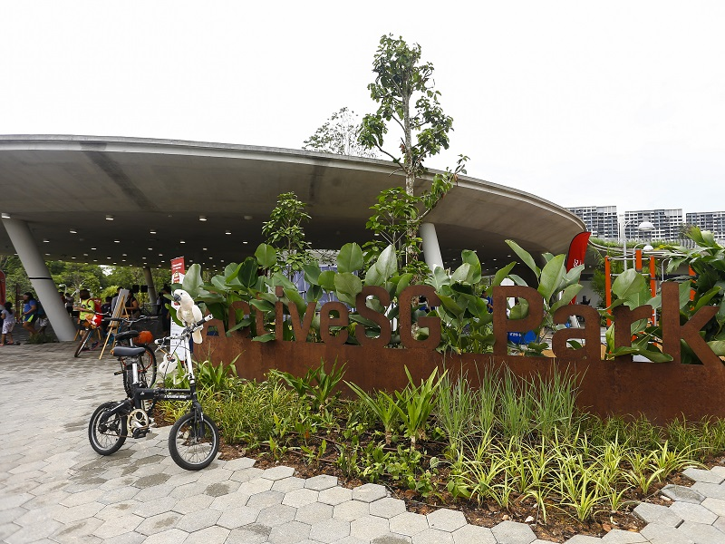 ActiveSG Park now open with a multitude of sporting facilities for all