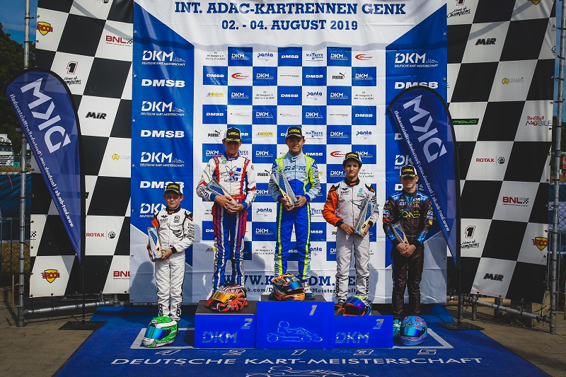 SINGAPOREAN JUNIOR RACER CHRISTIAN HO WINS DKM GERMAN KARTING CHAMPIONSHIP SERIES Photo: Christian Ho