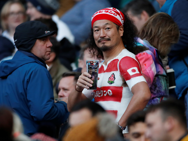 rugby fans photo: Action Images via Reuters/Andrew Boyers