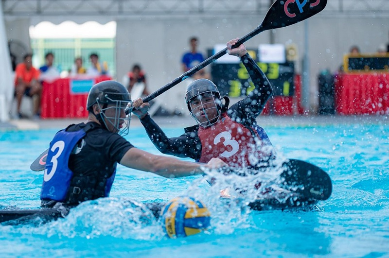 GetActive! Singapore pesta sukan 2019 canoe polo photo: Daniel Chua/ SportSG