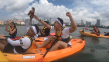 Singapore Sports Hub Kayaking Mubarak Loh Guo Pei Adventure Series