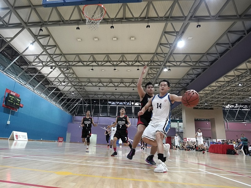 Pesta Sukan 2019 basketball photo: Leong AC/ SportSG