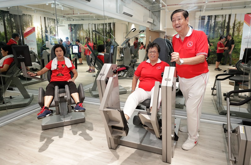 Ang Mo Kio Community Centre first to host ActiveSG gym for the elderly