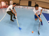 Floorball Attacking Joshua Seow