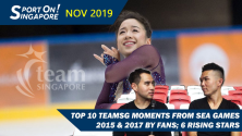 SEA Games 2019 Team Singapore Preview