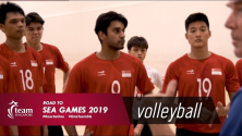 road to sea games indoor volleyball