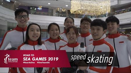 road to sea games speed skating
