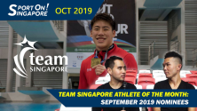 spotlight on team singapore Duncan Elias John Yeong jonathan chan diving sports highlights show