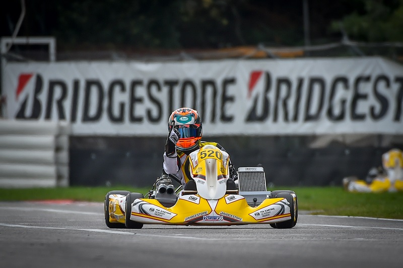 JUNIOR RACER CHRISTIAN HO BECOMES YOUNGEST EVER FIA KARTING ACADEMY TROPHY WINNER Photo: Christian Ho
