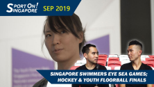 Sport On Singapore Show Singapore Swimmers Eye Sea Games 2019 John Yeong Duncan Elias Roanne Ho