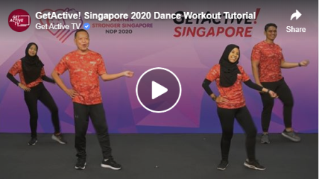 GetActive! Singapore dance workout tutorial
