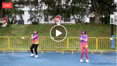 GetActive! Singapore Workout Team Nila