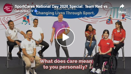 SportCares National Day 2020 Special: Team Red vs Team White