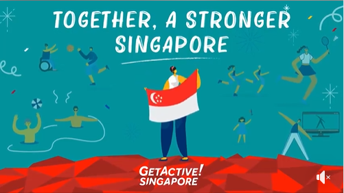 GetActive! Singapore rallies our people to celebrate the nation's 55th birthday