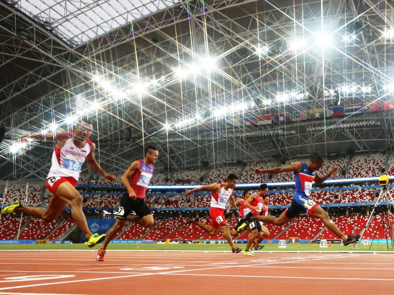 Singapore sports events coronavirus singapore open track and field championships