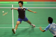 Derek Wang_Badminton Footwork