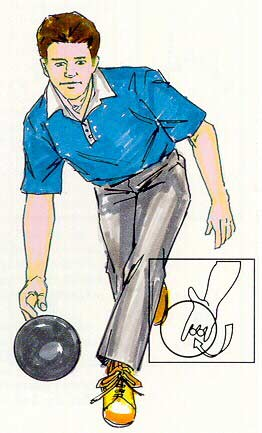 hook pose bowling