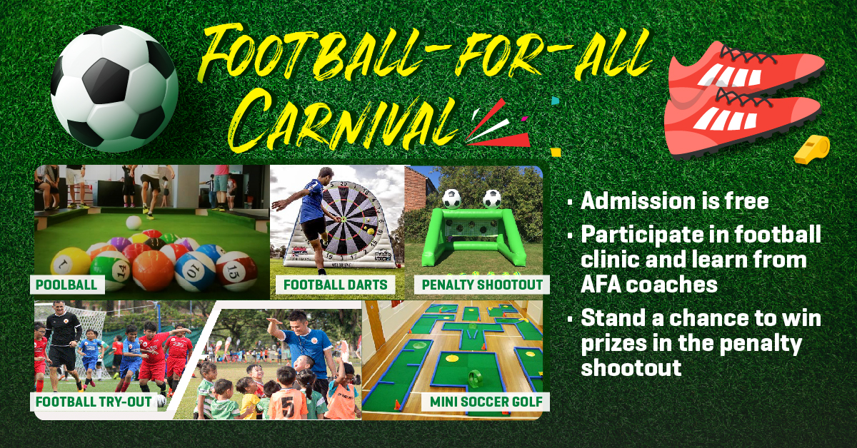 Football-for-all carnival