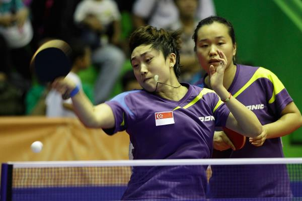 Table Tennis Forehand