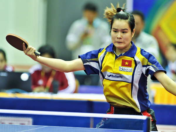 Table Tennis backhand