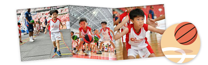 ActiveSG Basketball Academy School Holiday Programme