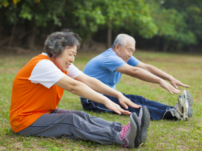 Exercises for elderly with arthritis - ActiveSG
