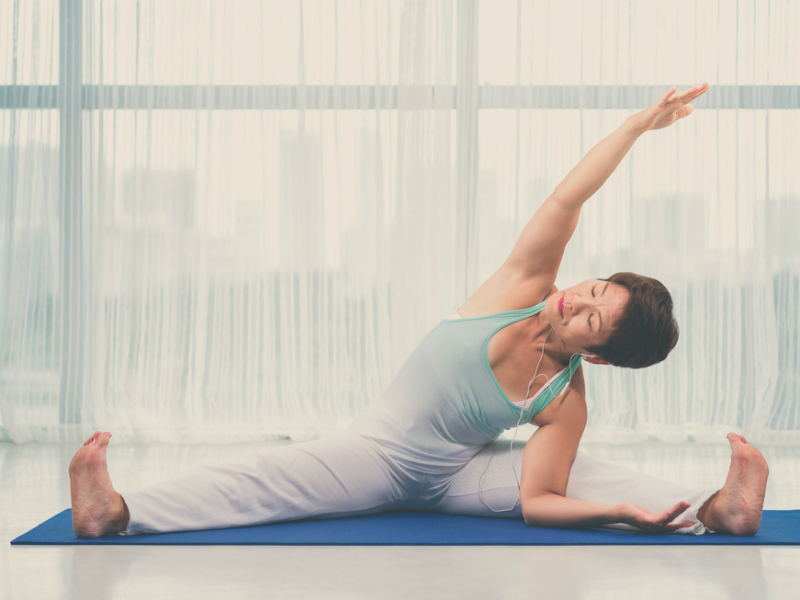 Improve flexibility and health with yoga therapy - ActiveSG