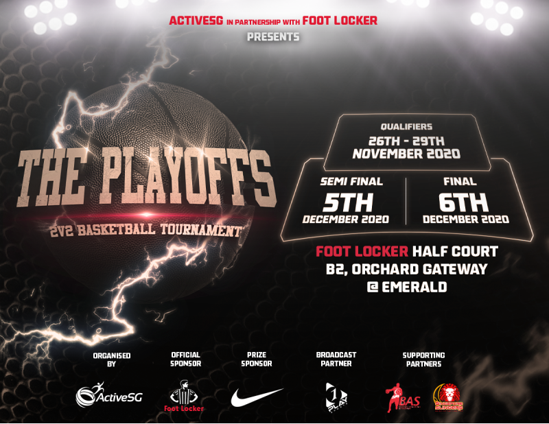 the playoffs 2v2 basketball tournament