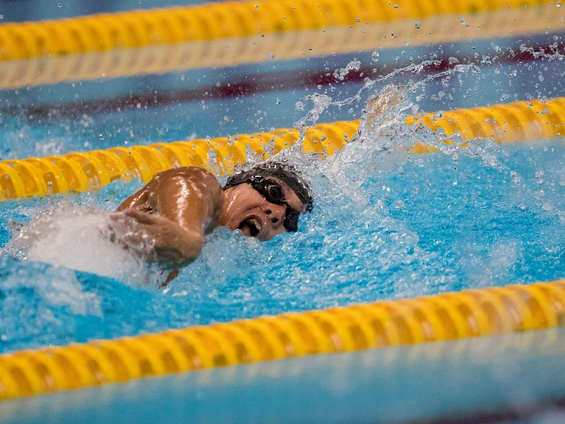 Toh Wei Soong wins Swimming Men's 100m Freestyle S7