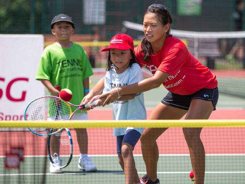 ActiveSG Tennis Academy launch