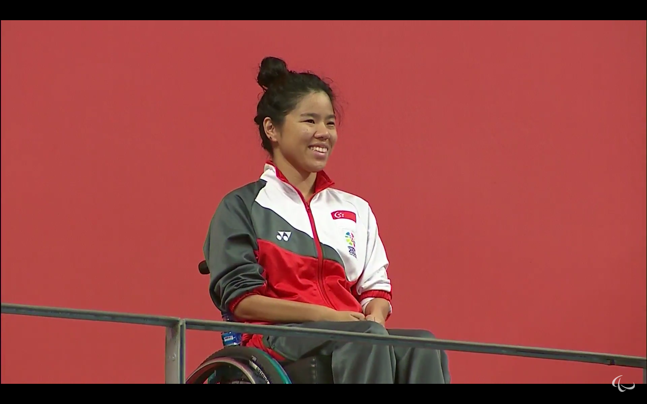 Toh Wei Soong wins bronze for Swimming Women's 100M Freestyle S4
